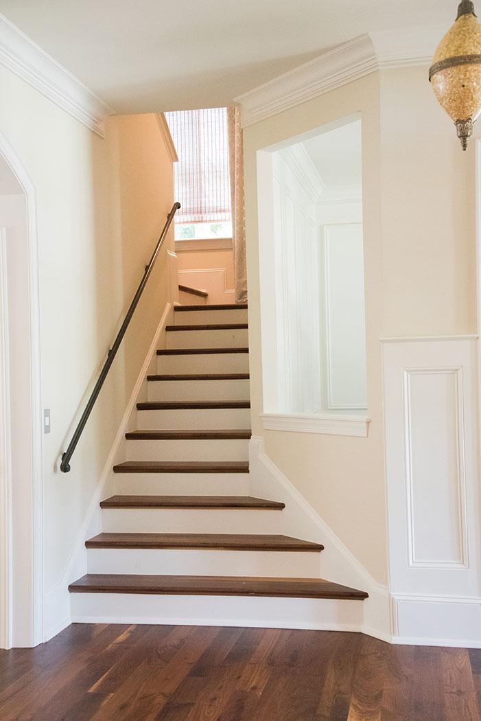 Stairway Wood Flooring