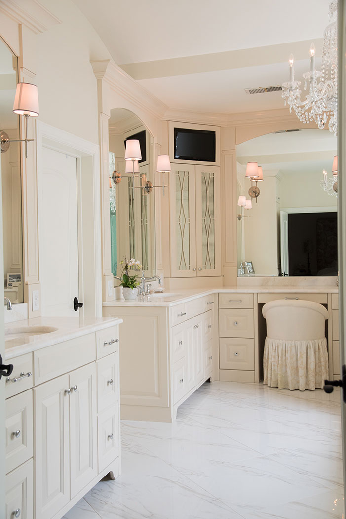 Bathroom custom sink vanity