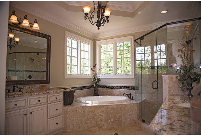 Luxury Bathroom with Garden Tub